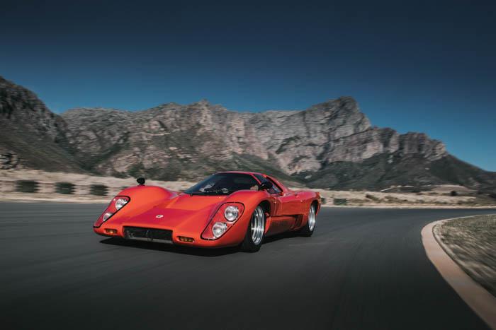 Collection in action – McLaren