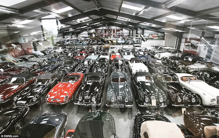 James Hull car collection