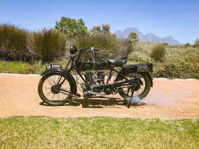 On yer bike: AJS Model D 1923