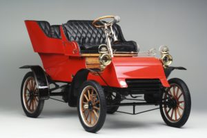 Ford Model A 1903, the oldest car in our collection.