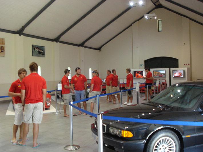 Stormers at Franschhoek Motor Museum