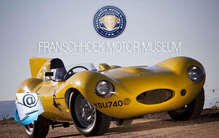 Franschhoek Motor Museum | April Newsletter