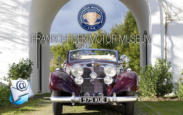 Franschhoek Motor Museum | July Newsletter