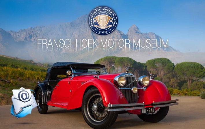 Franschhoek Motor Museum | September/October Newsletter