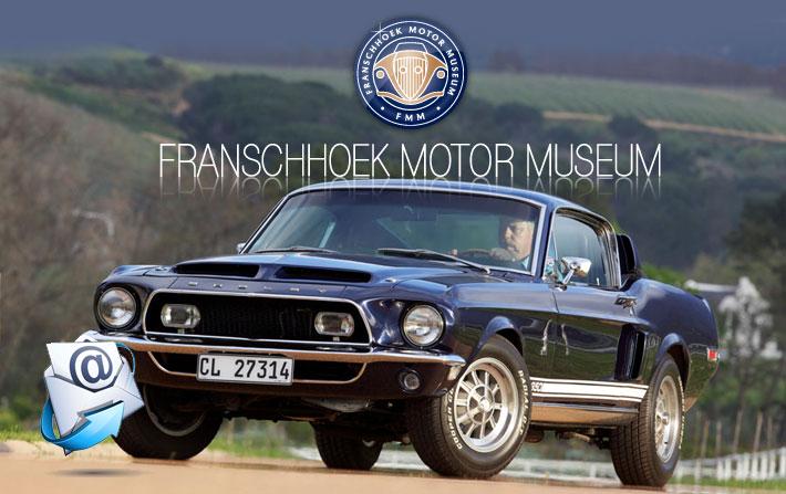 Franschhoek Motor Museum | November Newsletter