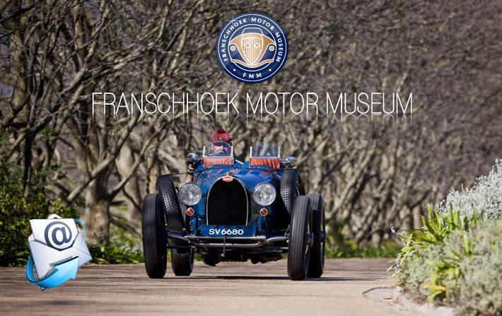 Franschhoek Motor Museum | December & January Newsletter