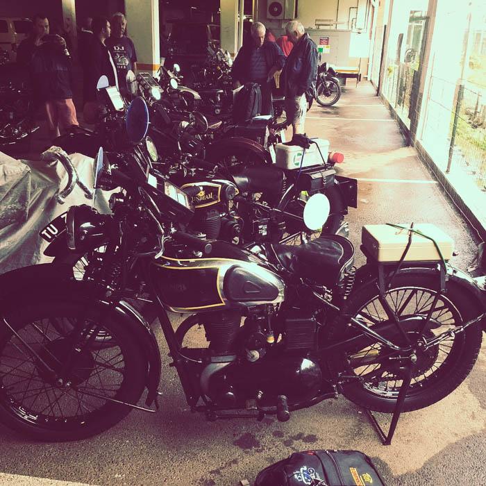 ex-Ian Brodie 1934 Triumph 350 3/1 sponsored by Marius Malherbe