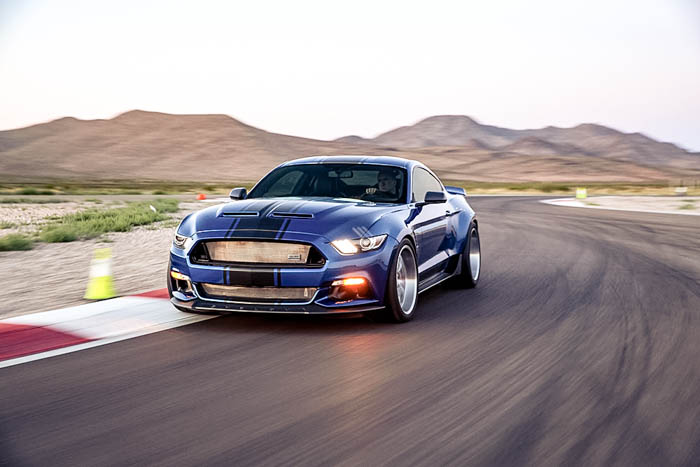 Mustang goes wide