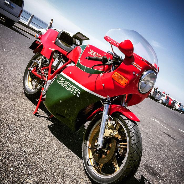 On yer bike: Ducati 900SS MHR