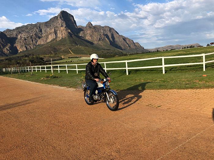On yer bike: Suzuki AS 50