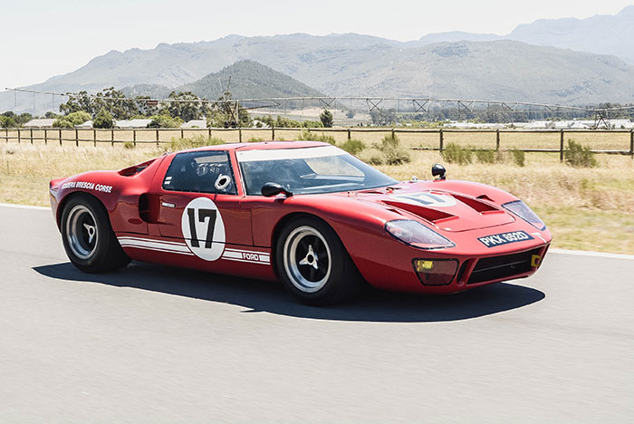 Collection in action: a Ford GT40