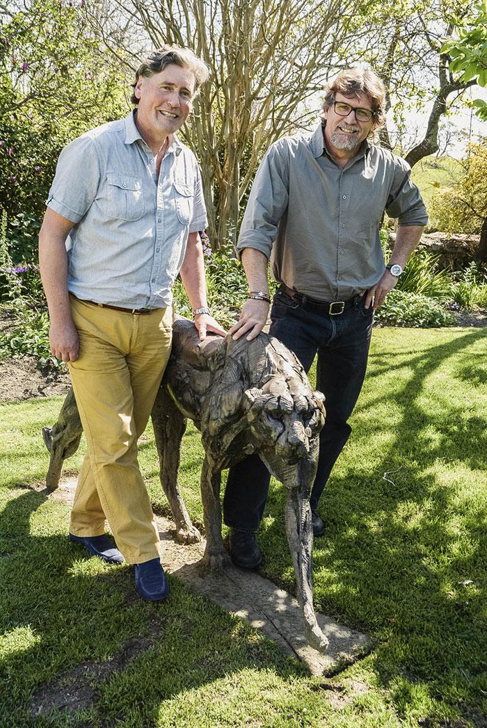 Iain Tyrrell visit to FMM
