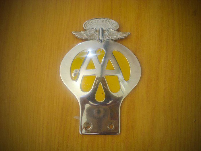 Memorabilia – AA Badge