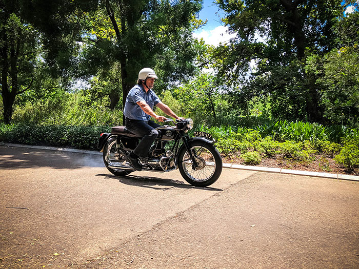 On yer bike: Velocette Valiant