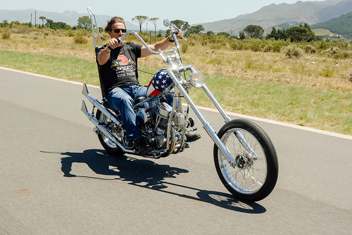 On yer bike: Easy Rider