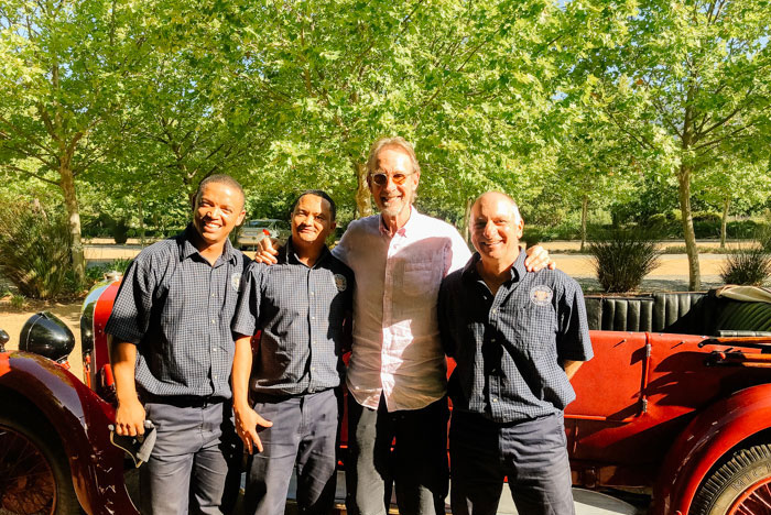 Ron, Dave, Mike and the Mechanics…