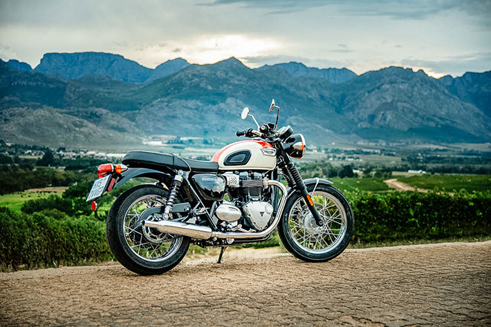 On yer bike: Triumph Bonneville