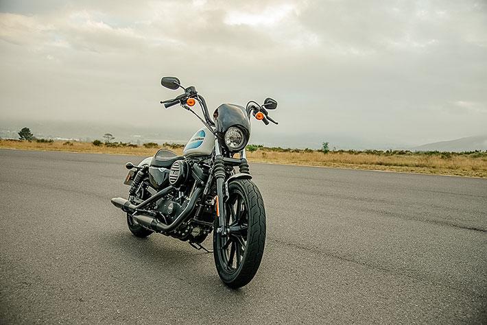 On yer bike: Harley Davidson Sportster
